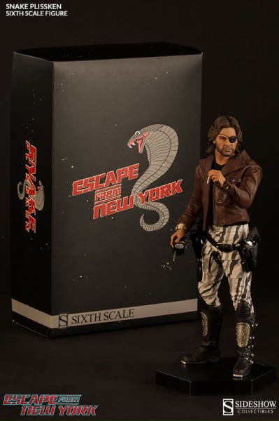 What, you thought he was dead? – Snake Plissken Sixth Scale Unboxing Photos