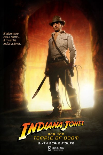 Fortune and glory, kids – Sideshow debuts new Indiana Jones and the Temple of Doom Figure