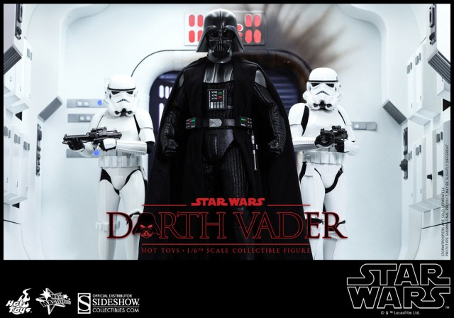 Embrace the Dark Side with new Hot Toys Star Wars Darth Vader Sixth Scale Figure