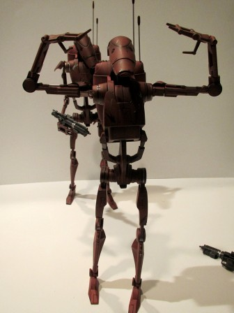 Amy Ratcliffe's 8 Favorite Sideshow Star Wars Geonosis Battle Droid Poses