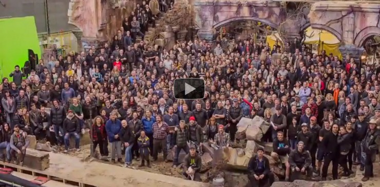 Cast and crew of The Hobbit: The Battle of the Five Armies celebrate a 17 Year Journey