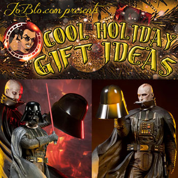 JoBlo recommends Sideshow Collectibles in their 'Cool Holiday Gifts Guide'