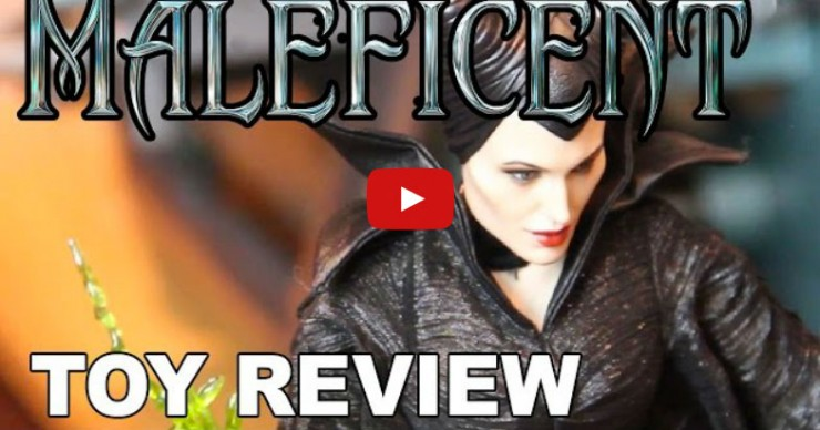 Hot Toys Maleficent Figure unboxing review