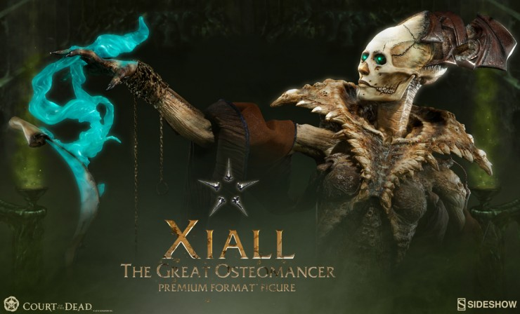 Xiall – The Great Osteomancer Premium Format Figure