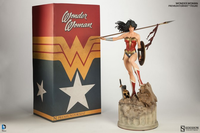 Wonder Woman Premium Format Figure Unboxing Photos