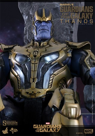 Thanos joins the Hot Toys Marvel Guardians of the Galaxy Sixth Scale Figure collection