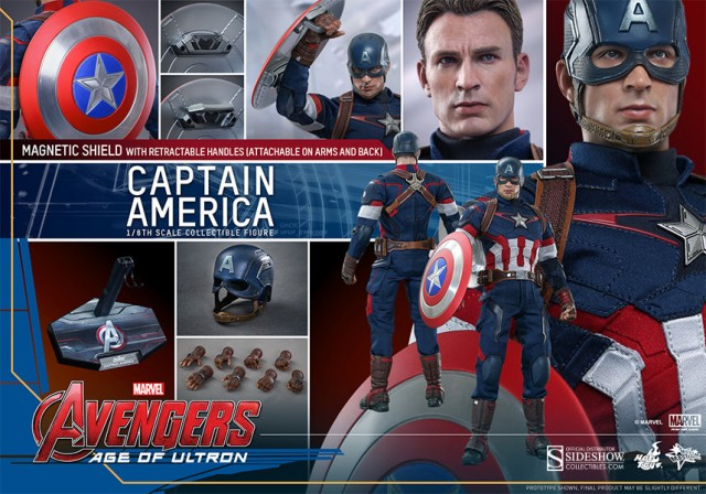 Hot Toys Avengers: Age of Ultron Captain America reporting for duty