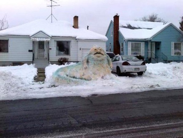 12 photos that prove Star Wars fans have the best snow days
