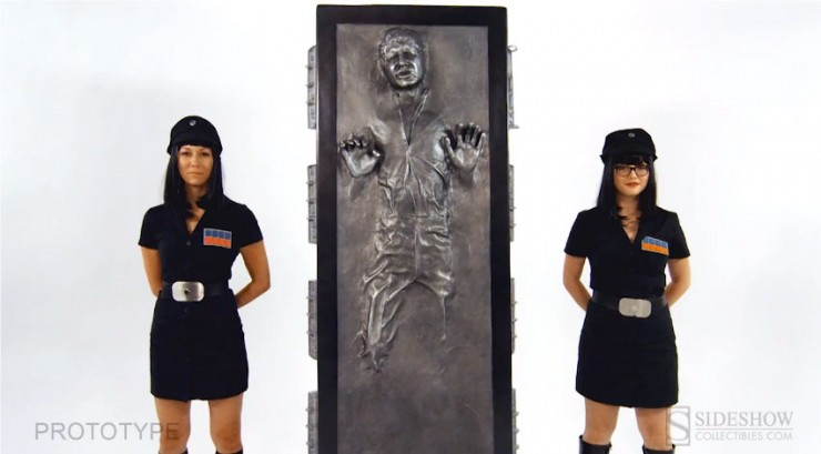 Han Solo in Carbonite Life-Size Figure Assembly Instructional Video