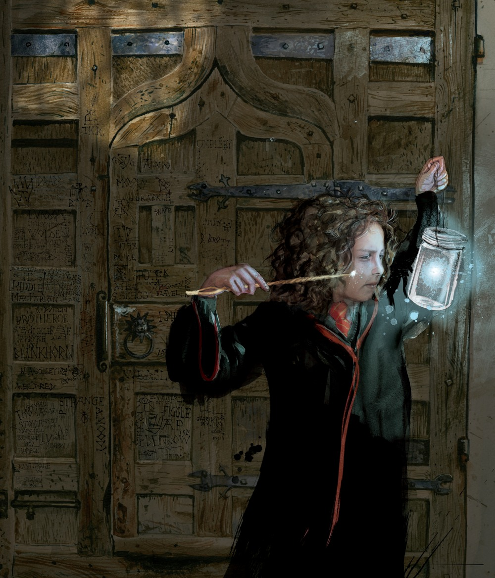 New Harry Potter images from the first fully-illustrated ...