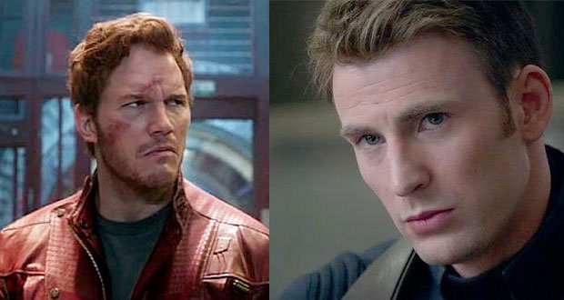 Chris Pratt vs. Chris Evans – Who will win this Epic Superhero Super Bowl Bet?