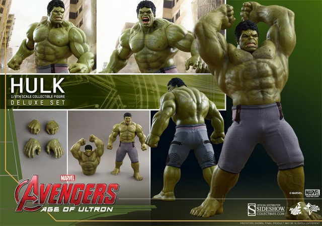 Hot Toys unleashes Hulk Sixth Scale Figure from Avengers: Age of Ultron