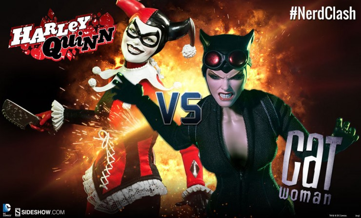 NERD CLASH Valentine's Day Edition – Catwoman VS. Harley Quinn