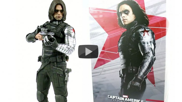Hot Toys Captain America Winter Soldier Sixth Scale Figure Video Showcase