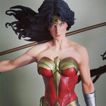 Fans are 'beyond excited' for Sideshow's Wonder Woman Premium Format Figure