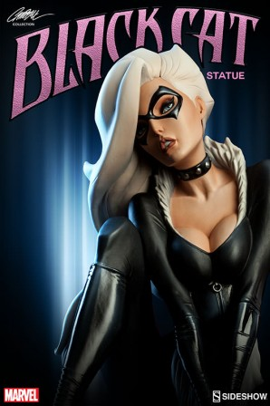 Me-ow! Black Cat joins the J. Scott Campbell Spider-Man Collection
