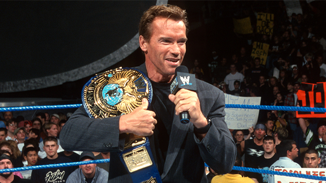 Arnold Schwarzenegger to enter the WWE Hall of Fame