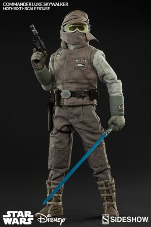Sideshow Collectibles Commander Luke Skywalker Hoth Sixth Scale Figure Final Production