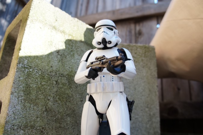 Comic Vine gets 'Hands On' with Hot Toys' Stormtrooper Figure