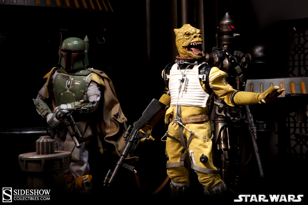 Htbap Like A Bossk Sideshow Collectibles