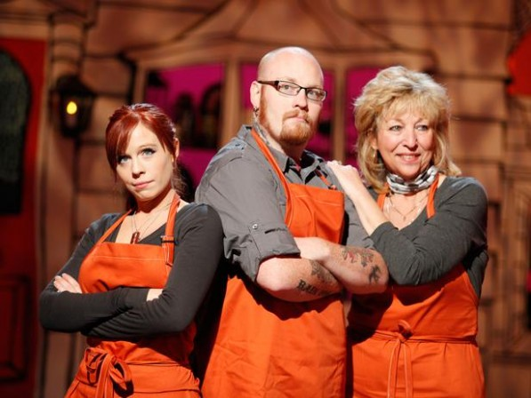 Sideshow Sculptor appears on Food Network's Halloween Wars!