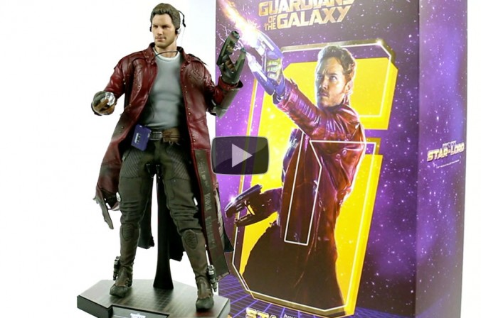 Hot Toys Star-Lord Sixth Scale Figure Video Showcase