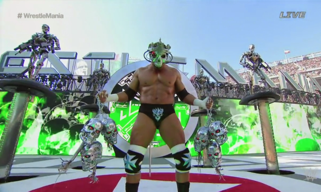 Triple H and Sideshow Terminators bring Judgment Day to WrestleMania 31
