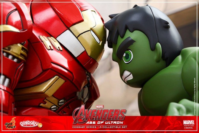 Hot Toys 'Avengers: Age of Ultron' Cosbaby Series continues with Hulk and Hulkbuster!