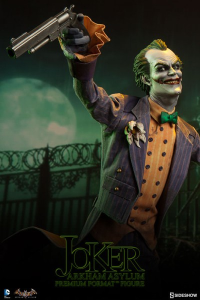 The Joker kicks off Sideshow's new 'Batman: Arkham Asylum' collection