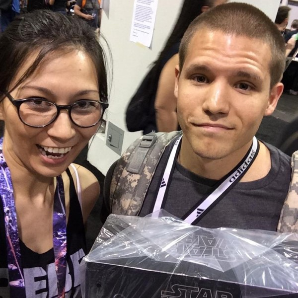 Winner at Star Wars Celebration 2015!