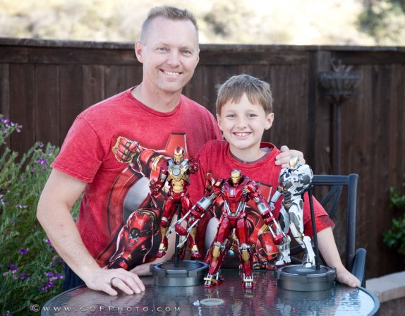Richter Boys Review Hot Toys Iron Man Figures – Heartbreaker, Red Snapper, Starboost