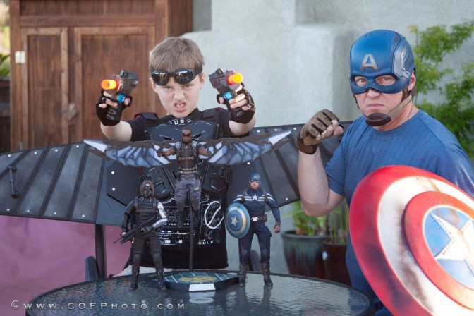 Richter Boys Review Hot Toys Captain America: Winter Soldier Figures Pt 2 – Falcon