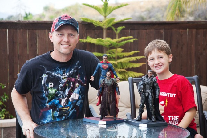 Richter Boys Review – Hot Toys Superman, Jor-El, and General Zod