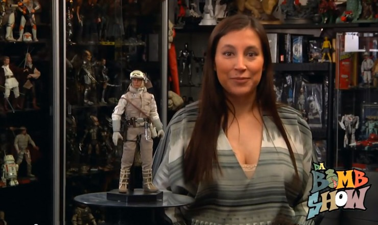 Da Bomb Show Reviews Luke Skywalker in Hoth Gear Sixth Scale Figure