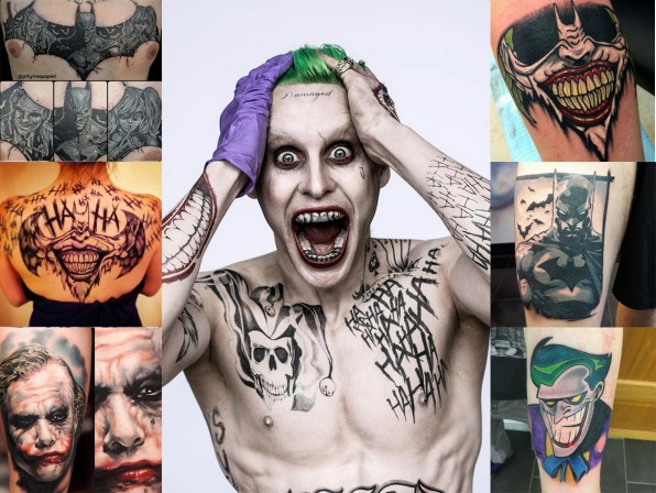 If you thought the Joker's tattoos were insane, check out these 10 epic Batman tattoos!