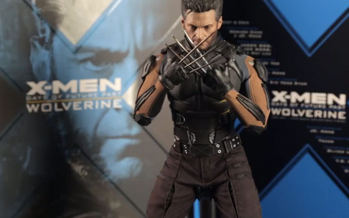 Hot Toys Wolverine 'Days of Future Past' Sixth Scale Figure Unboxing Video