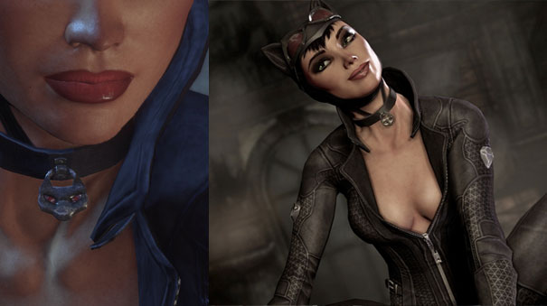 Finally in Rocksteadyu0027s hit video game Batman Arkham City Selina suits up in a sassy street-smart outfit. Still rocking the form fitting suit with the ...  sc 1 st  Sideshow Collectibles & Nine Lives: A look back at Catwomanu0027s costumes through the ages ...