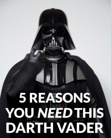 5 reasons you need this Darth Vader in your collection