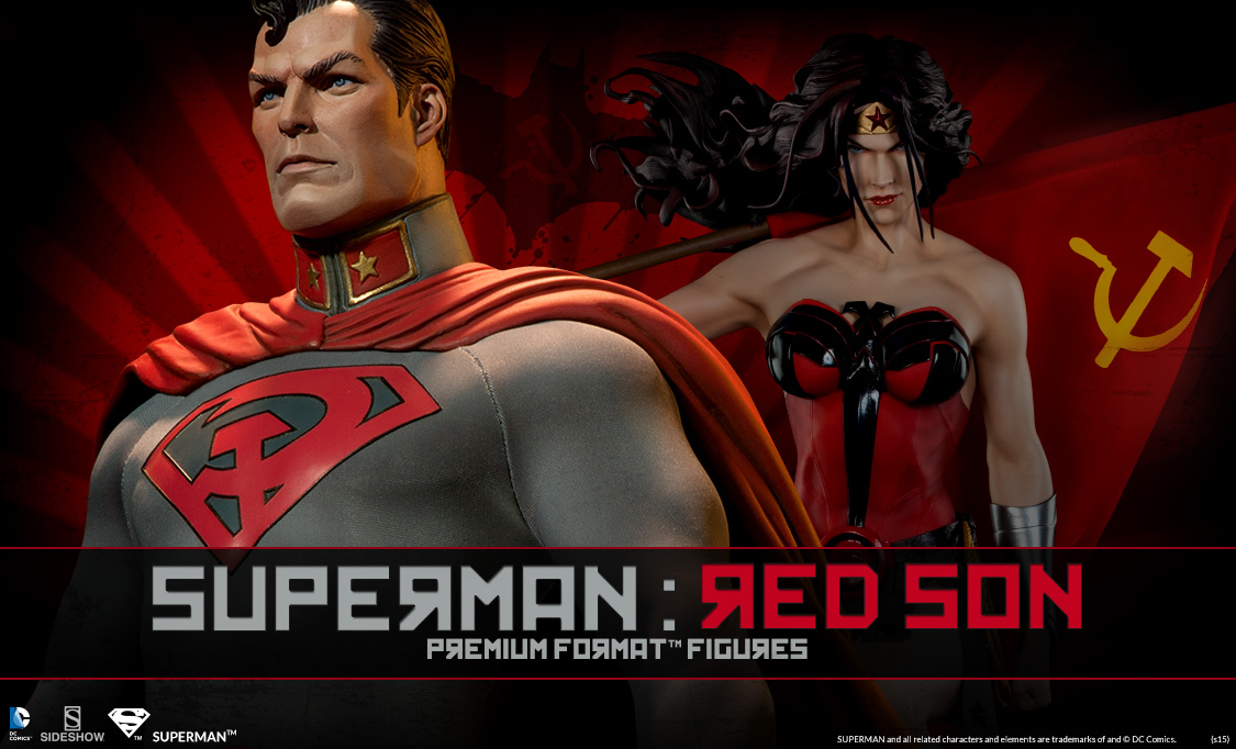 Superman Red Son Statues | Sideshow Collectibles Red Son Justice League