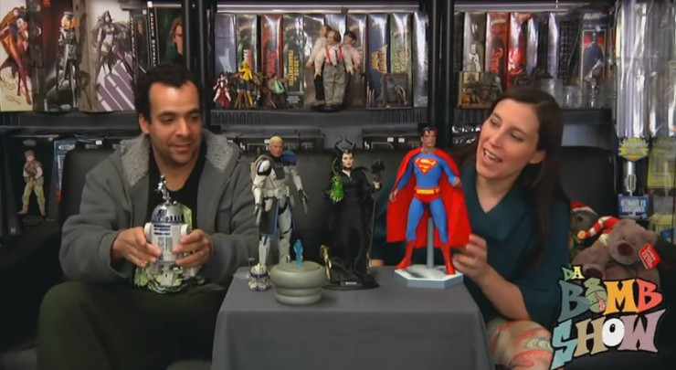 Da Bomb Show reviews new sixth scale figures – Captain Rex, R2-D2, Superman, and Maleficent