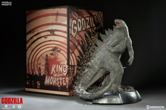 Godzilla Maquette – Final Production Gallery