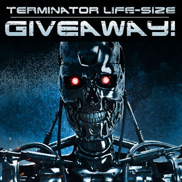 Life-Size T-800 Endoskeleton Figure Giveaway from Sideshow and ThinkGeek!