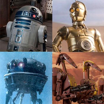 Essential Droids of the Star Wars Universe