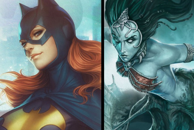 New Batgirl and Court of the Dead Premium Art Prints