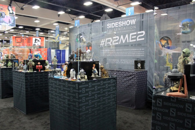 Beep-boop beep! Sideshow's R2-ME2 gallery comes to Comic-Con!