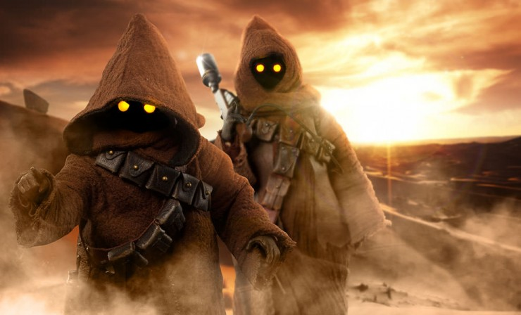 Uttini! The Jawas have arrived!