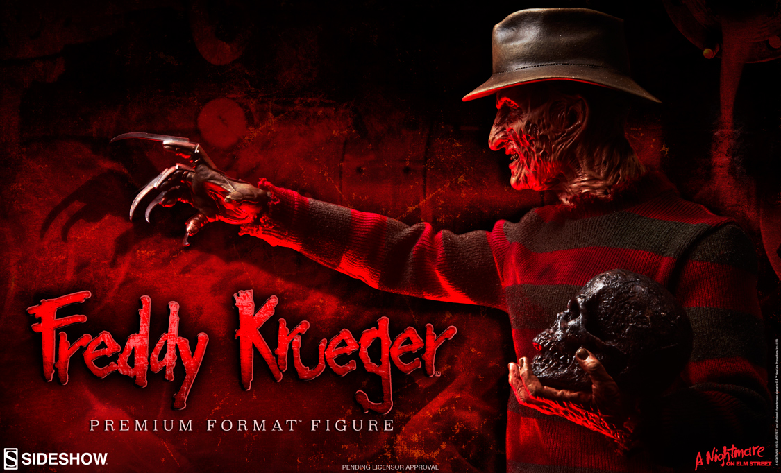 Freddy krueger premium format figure preview sideshow - Pictures of freddy cougar ...