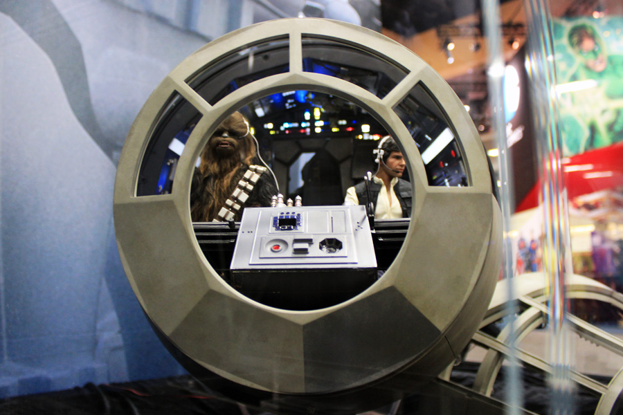 Hot Toys Brings The Millennium Falcon Tie Fighter The