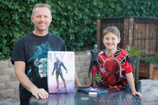 The Richter Boys review Hot Toys Electro Sixth Scale Figure