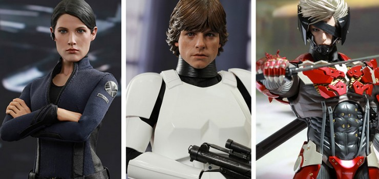 New Hot Toys Toy Fair Exclusives available now – Luke Skywalker, Maria Hill, MGS Raiden